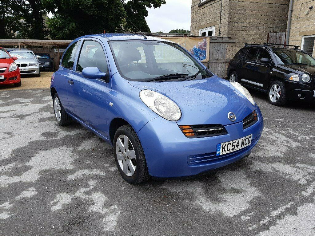 2004 nissan micra 12 s 3dr blue mot june 2021 px to clear