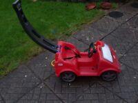 LITTLE TIKES RED PUSH CAR