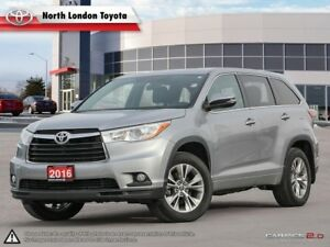 2016 Toyota Highlander LE Comfortable ride and well equipped...