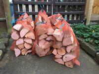 Seasoned Harwood logs