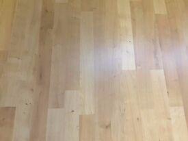 Laminate Flooring 12mm, heavy duty, 7 packs - 1.48m2 coverage per pack