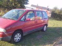CITROEN SYNERGIE 8 SEATER MPV 2.0 PETROL MAY 2017 MOT GOOD RUNNER VERY RELIABLE GOOD TYRE'S