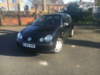 Volkswagen polo low millig mint condtion