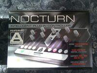 Novation nocturn USB controller.