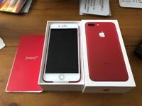 iPhone 7 Plus 128GB Limited Edition Red for sale or swap