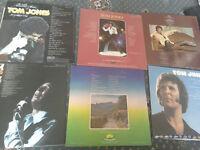 6 Tom jones records in good condition