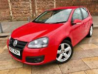 2007 GOLF GT / TDI / A REAL LOOKER IN RED / ALLOYS / CD / ELECTRIC WINDOWS / JAN MOT .