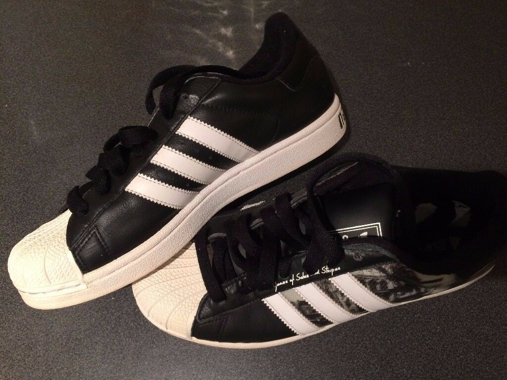 Shoes Adidas Superstar New York G181196 3D Hologram 60th Anniversary UK 7.5 2009