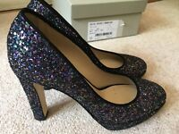 Sparkly Size 4 High Heeled Court Shoes from Hobbs