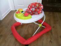 Red kite baby walker