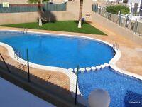 Costa Blanca, La Cinuelica R16, 2 bedroom, 1st floor apt with English TV (SM073)