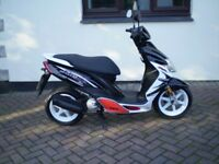 yamaha jog RR 50 l/c scooter 2011 only 5000 miles fsh
