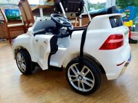 Electric car with remote control