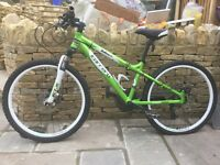 Boys carrera blast mountain bike