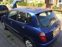 Excellent working condition Daihatsu Sirion Automatic, 99 Reg, £450 OVNO