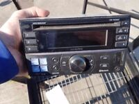 Alpine 2 din bluetooth radio