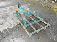 Kilworth 5ft tractor three point linkage land leveller with extra scraper