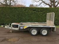 Ifor Williams gx84 2.7 tonne plant trailer