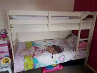 Bunk bed wood good condition