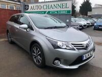 Toyota Avensis 2.0 D-4D Icon Business Edition 5dr£9,995 p/x welcome TOP OF THE RANGE MODEL.