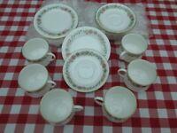 Vintage Bone China TRIOs Tea Set. Paragon Belinda. Afternoon T-set
