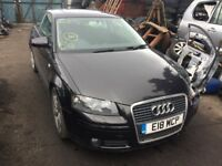 2007 Audi A3 1.6 3 Door BSE JTY DSG LZ7L Breaking For Parts Spares