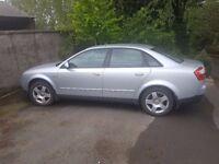 2002 Audi A4 Tdi *Full Year MoT*