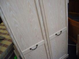 BIG 2-DOOR WARDROBE - NEW LOWER PRICE (WAS £165)