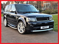 68500 Miles-- 2011 Range Rover Sport 3.0 TD V6 SE -- TopSpec -- Great Condition -- 1 ONE Owner -FSH