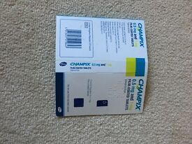 Champix 0.5mg and 1mg stop smoking tablets ,starter pack, can post