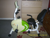 V Fit Recumbent magnetic excercise cycle