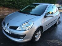 RENAULT CLIO 1.2 ** 58 PLATE ** 5 DOOR HATCH ** ONLY 25,000 MILES FROM NEW **