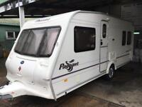 Bailey Pageant Bordeaux 2004 4 berth Fixed Bed Caravan