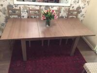 Ikea Stornas Dining Table + 8 Chairs