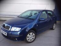 skoda fabia 06 plate low miles only £1150