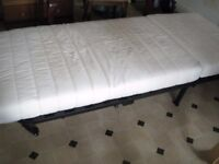 SINGLE BED SOFA FABRIC... IN GOOD CONDITION