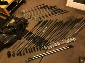 37 Golf Clubs Set Callaway Ping Howson Yonex Meridian Keno Cobra Vantage
