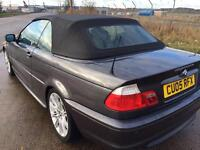BMW 318CI M SPORT CONVERTIBLE £2400