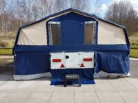 2003 CONWAY COUNTRYMAN FOLDING CAMPER + AWNING + EXTRAS / TRAILER TENT