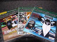Motor Sport magazines.