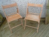 Pair of Ikea Patio Chairs
