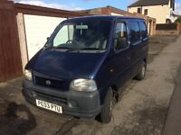 2003 Suzuki carry van 1.3 blue mot September
