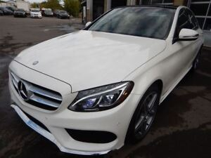 2016 Mercedes-Benz C-Class C300*4MATIC*RED INTERIOR*TOIT PANO*NA