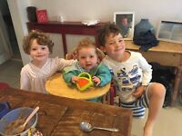 Live-in junior nanny for three gorgeous children