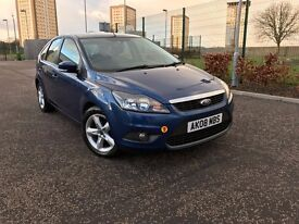 2008 NEW SHAPE FORD FOCUS MODEL&FULL SERVICE HISTORY-LONG MOT-LOW GENUINE MILEAGE-SPOT ON EXAMPLE