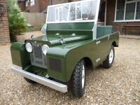 Series 1 Land Rover child's ride on electric car