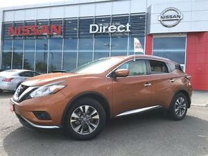 2015 Nissan Murano SL-NAVI-WHITE LEATHER IN VERY GOOD CONDITION