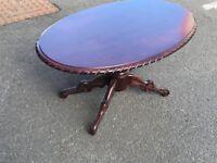 Mahogany Coffee Table (@07752751518)