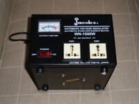 Jacobs Automatic Voltage Regulator Wn - 1000w