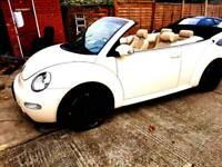 Volkswagen Beetle convertible 2003 long MOT Mint condition part exchange welcome
